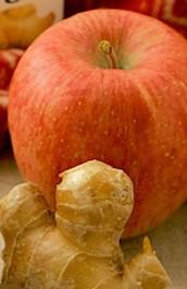 リンゴしょうが